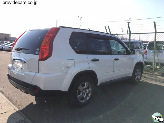 back of car NT31 - 2008 Nissan X-trail 20S 4WD - pearl-white