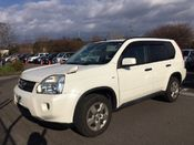 front photo of car NT31 - 2008 Nissan X-trail 20S 4WD - pearl-white