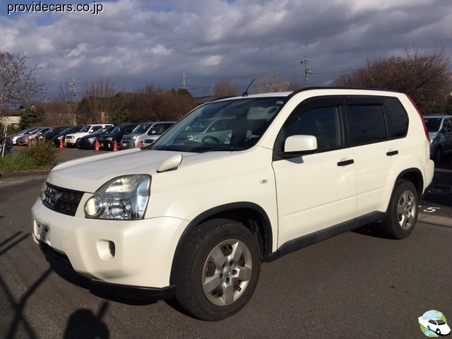 front of car NT31 - 2008 Nissan X-trail 20S 4WD - pearl-white
