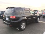 back photo of car LFACTMWNX82000598 - 2008 Ford Escape XLT 4WD - black